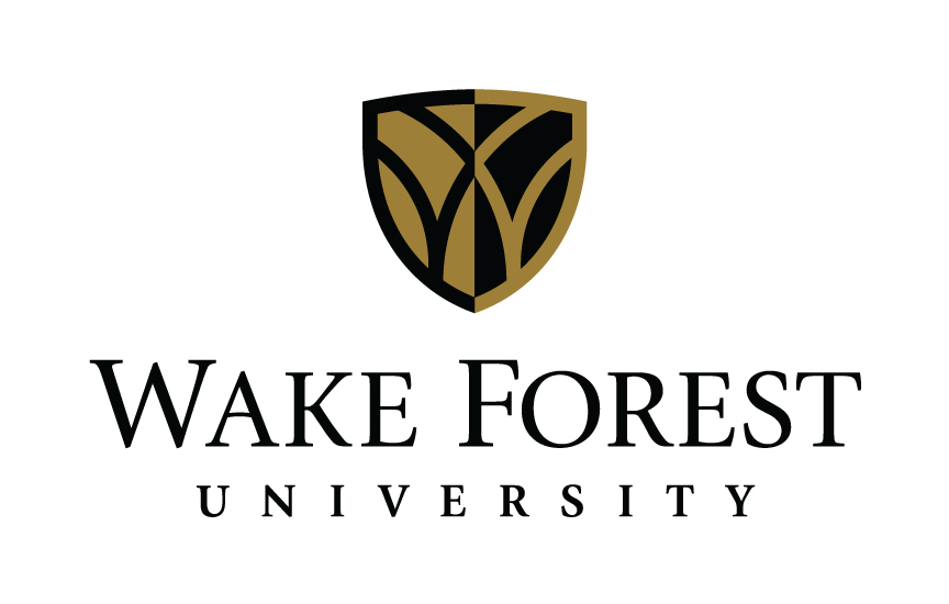 wake forest university, logo