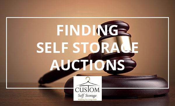 self storage, auctions, gavel
