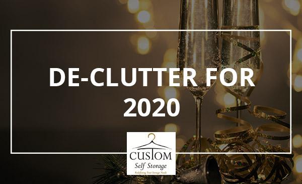 de-clutter, new year