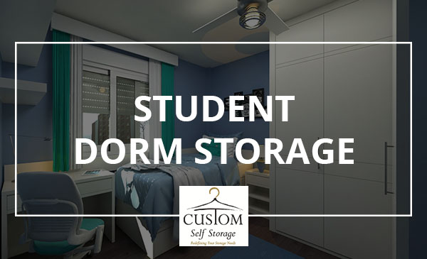 dorm storage, students