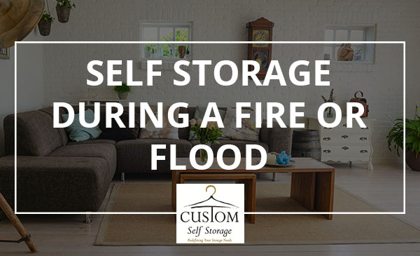storage flood, fire, tips