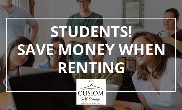 renting, students, storage
