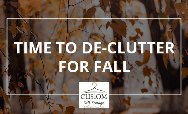 fall, de-clutter, leaves