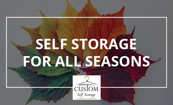 self storage, year, seasons