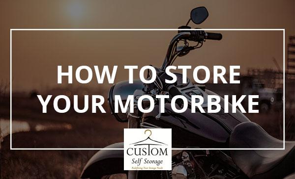 store, motorbike