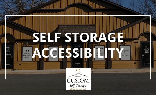 self storage accessibility